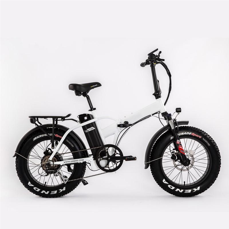 Vélo pliant électrique LEEF8130-X4