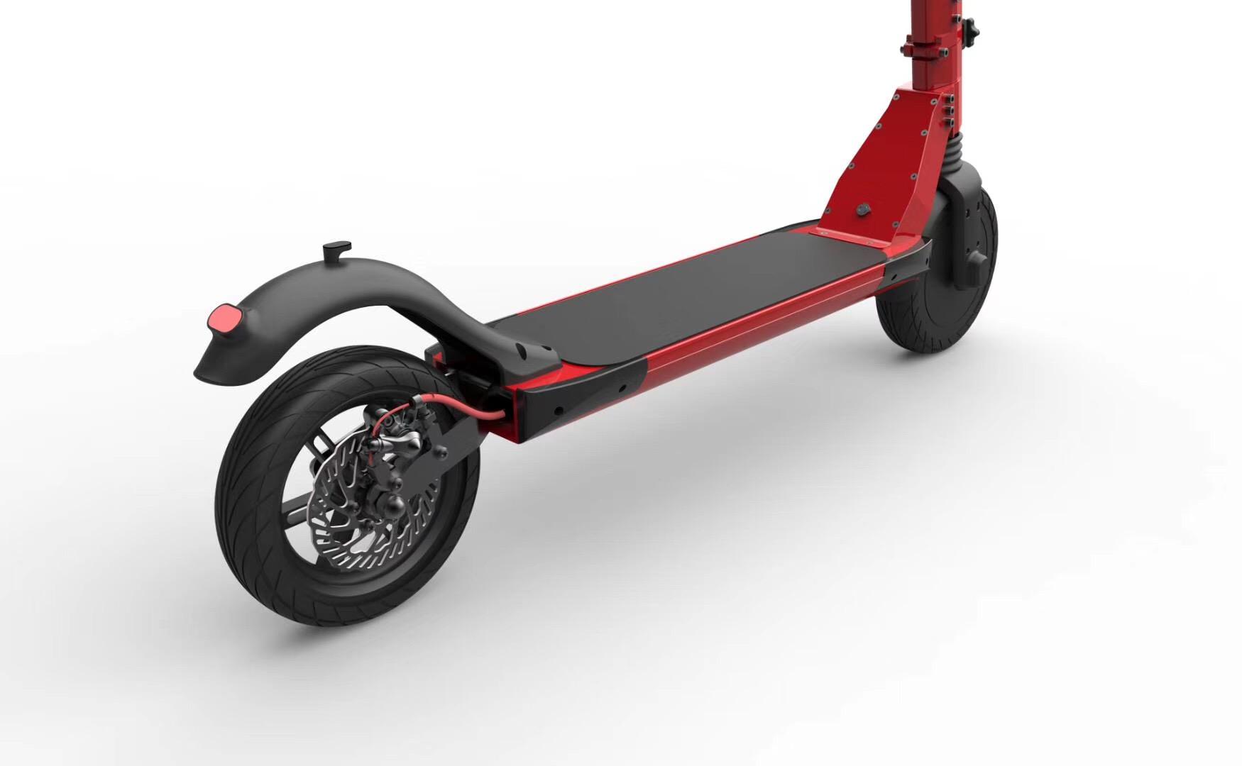 E-scooter adulte à grande vitesse de scooter électrique de 10 pouces