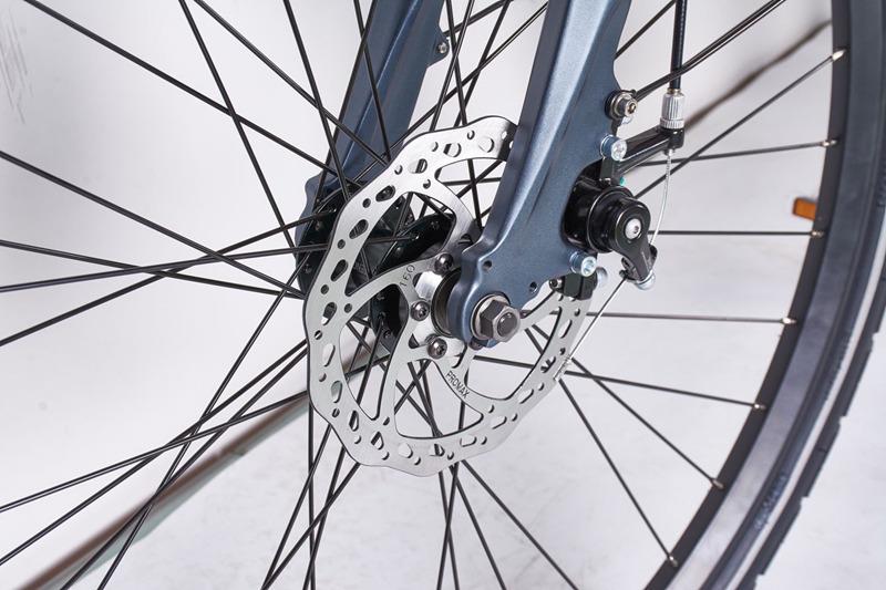 Vélo de ville électrique LEEW2010 Mid Motor